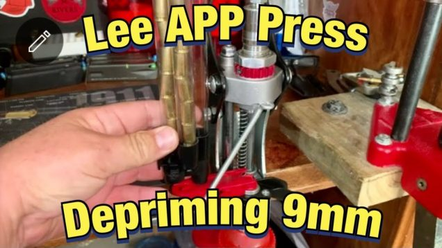 Lee APP Press Depriming 9mm Brass
