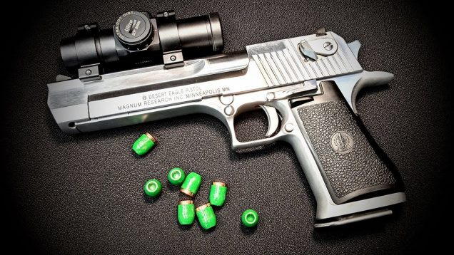 Shooting The Desert Eagle 50AE (Coated Cast HP)