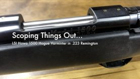 WCChapin | Scoping Things Out – Howa 1500 Hogue Varminter in .223 Remington