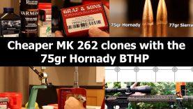 .223 Rem – 75gr Hornady BTHP with N540 & Varmint