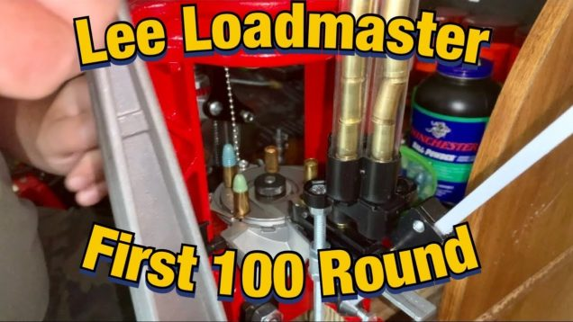 Lee Loadmaster First Hundred 9mm Rounds
