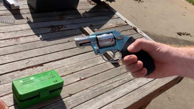 Quick Look at the Charter Arms Blue Diamond 38 Special
