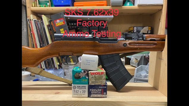 SKS 7.62×39 Factory Ammo Testing