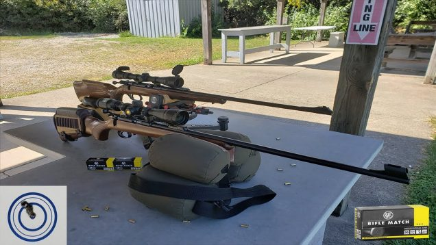 Sporter Rifle Day: Savage Anschutz vs CZ455 Trainer RWS Rifle Match – Very Windy Day