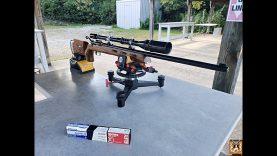 Winchester52D vs Zermatt RimX: Eley Tenex, Federal UM1, Lapua CenterX -Old Bull vs Young Buck