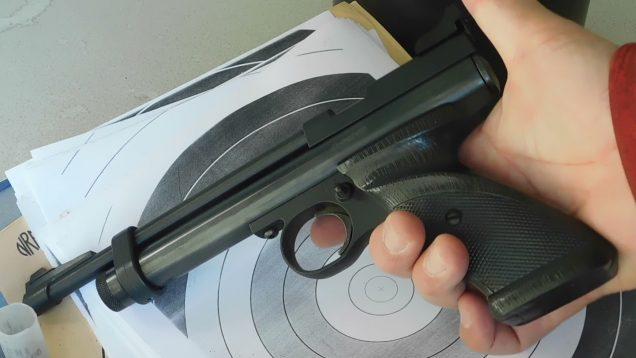 Big Thanks To John T. – Webley Junior Air Pistol.Joins My Air Pistol Stable Hello – To Robert Martin