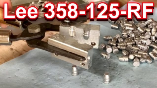 Casting with the Lee 358-125-RF