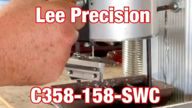 Casting with the Lee C358-158-SWC