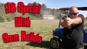 Shooting the First 50 Rounds of 38 Special with 9mm Bullets