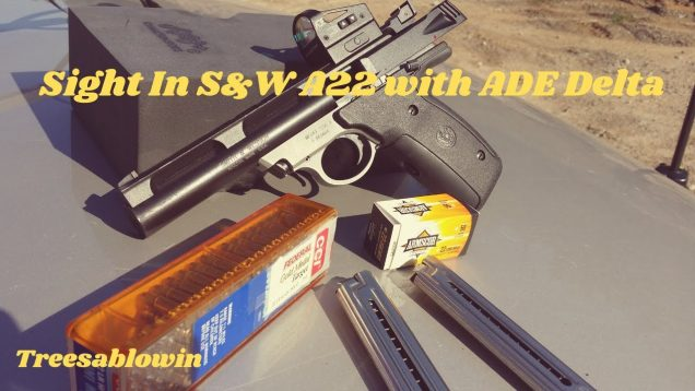 Sight in S&W 22A and ADE Red Dot