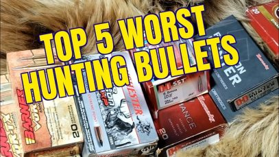 TOP FIVE WORST HUNTING BULLETS